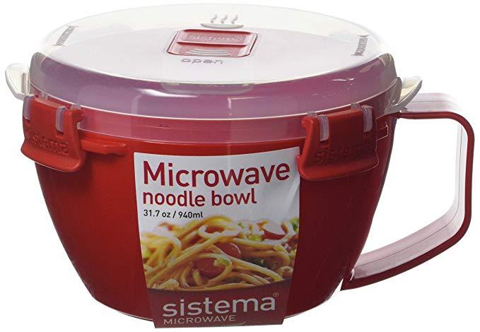 Sistema Microwave 1109 Mikrowellen-Nudelbowl To Go