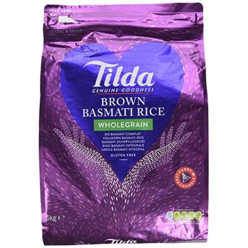 Tilda Wholegrain Basmati Rice 5kg