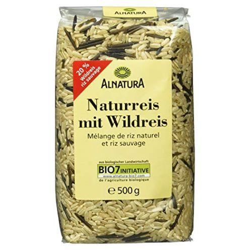 Alnatura Bio Naturreis mit Wildreis