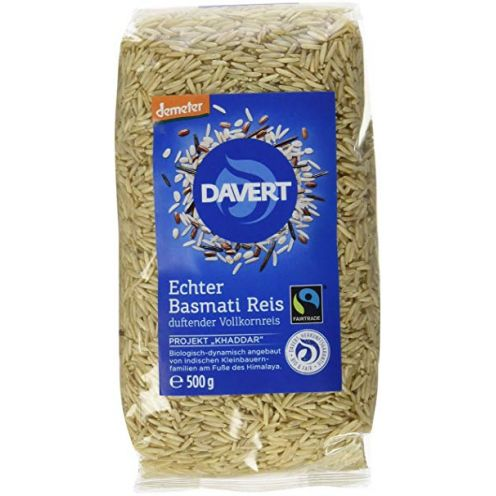 Davert Echter Basmati Reis braun