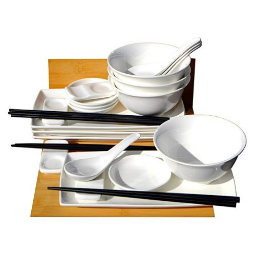 Gifts Of The Orient GOTO Sushi-Set mit Schüsseln (4 Personen)