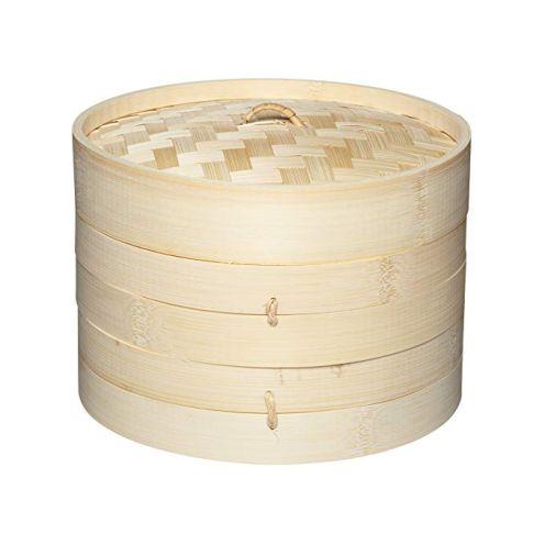 Kitchen Craft Pure Oriental Bambus-Dampfkorb
