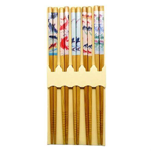 "Ukainiemai asiatische Chopsticks ""Fish Design"" (5 Paar)"