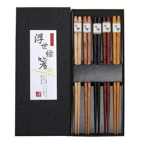 Weisika japanische Essstäbchen (5 Paar)