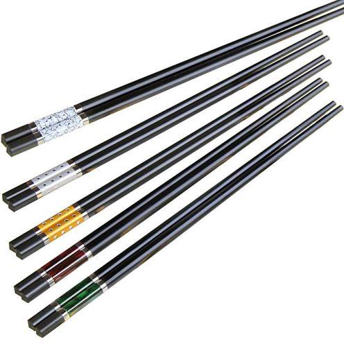 ZITFRI Essstäbchen 5er Set Chopsticks