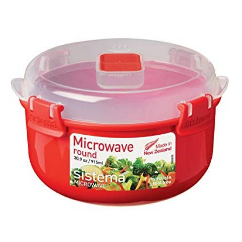 Sistema Microwave Microwave Rundbehälter 915 ml