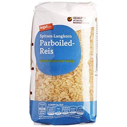 Tegut Spitzen-Langkorn Parboiled-Reis