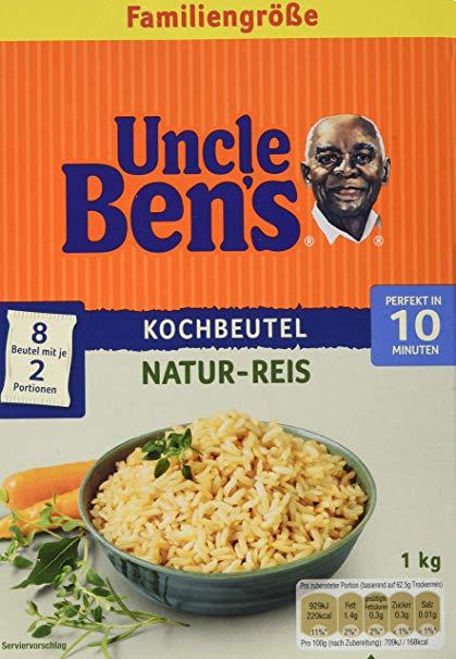 Uncle Ben's Naturreis im 10-Minuten Kochbeutel